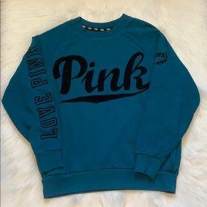 Pink Velvet Sweatshirt